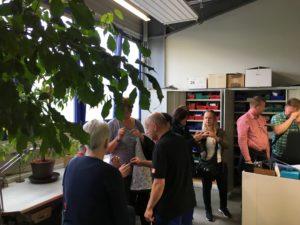 Betriebsbesichtigung der Bornemann GmbH