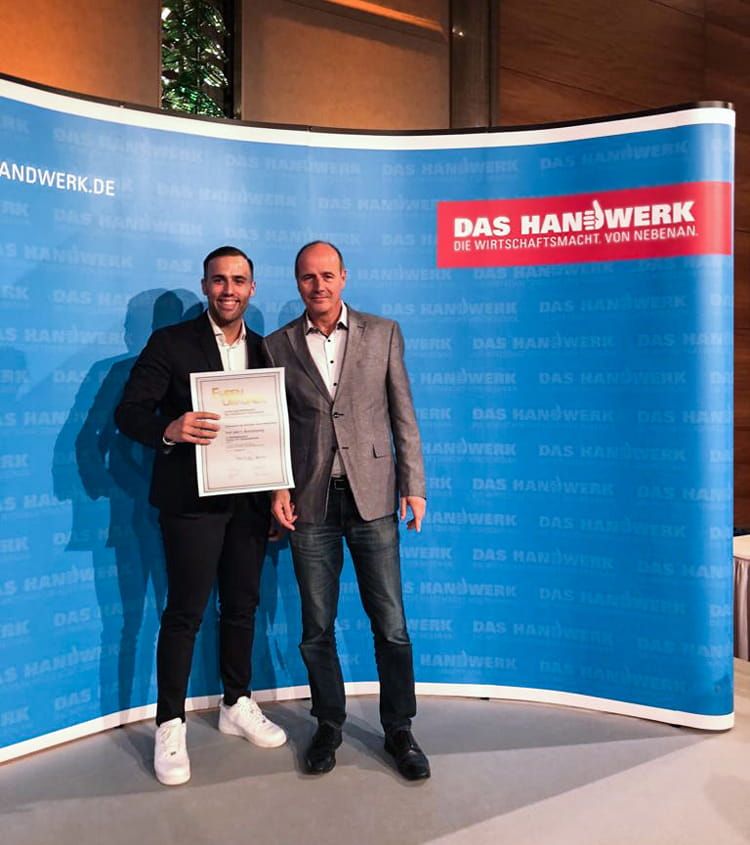 Sebastian Magalhaes von der Bornemann GmbH ist Bundessieger!